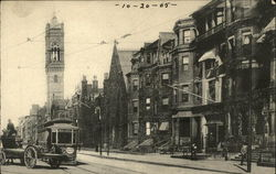Ipswich Street and Brookline Ave Trolly