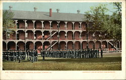 Inspection Day, Fort Monroe, Old Point Comfort