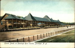 Grand Stand at Saratoga Race Course
