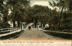 Main Street Iron Bridge over the Squannicook