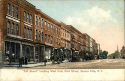 Fall Street, Looking West from Ovid Street