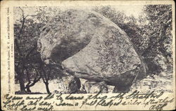 Large Boulder near Ridgefield, Conn.