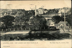 View Looking East from Franklin Street Postcard