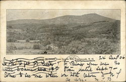Kearsarge Mountain from Goulds Hill Postcard