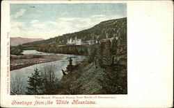 The Mount Pleasant House from Banks of Ammonoosuc