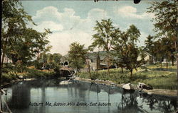 Bobbin Mill Brook at East Auburn