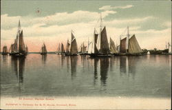 At Anchor, Harbor Scene