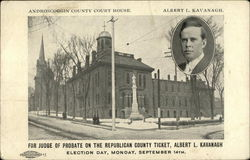 Androscoggin County Court House, Albert L. Kavanaugh