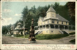 Encampment Headquarters At Weirs Lake Winnipesaukee