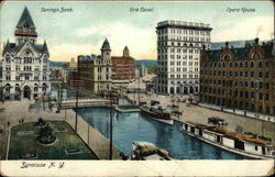 Savings Bank, Erie Canal and Opera House