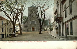 Town Square, 1st Church Burial Hill
