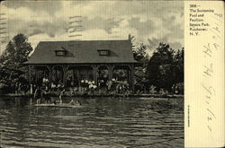 Swimming Pool and Pavilion, Seneca Park