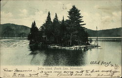 Dollar Island, Fourth Lake, Adirondacks