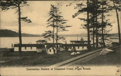 Quarantine Station at Diamond Point, Puget Sound
