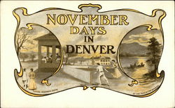 November Days in Denver