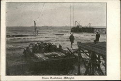 Nome Roadstead, Midnight Postcard