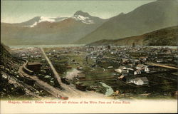Ocean Terminus of Rail Division of the White Pass and Yukon Route