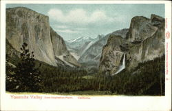 View from Inspiration Point, Yosemite Valley