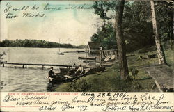 View of Hacker's Shore of Large Cedar Lake