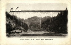 Marent Trestle, N. P. Railway
