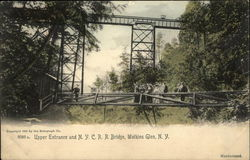 Upper Entrance and N.Y.C.R.R. Bridge