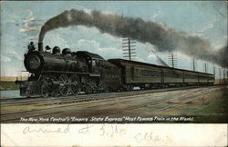 "The New York Central's ""Empire State Express"""