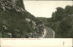 Ledges on Cheshire R.R. Track