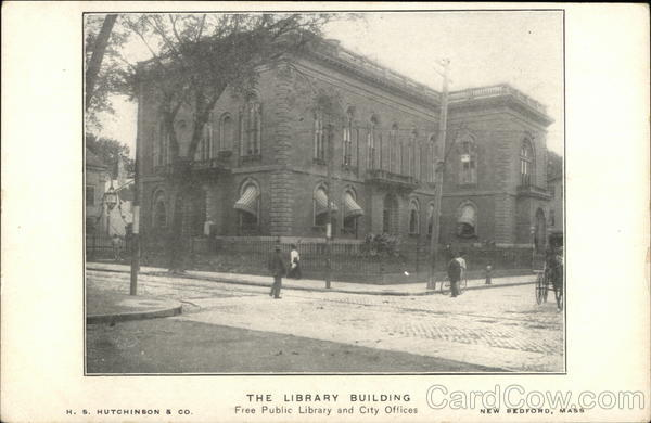 Free Public Library and City Offices New Bedford Massachusetts