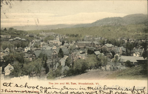 The Inn and Mt. Tom Woodstock Vermont
