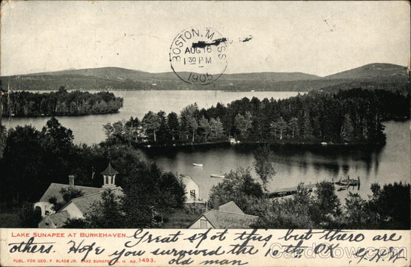 Lake Sunapee at Burkehaven New Hampshire