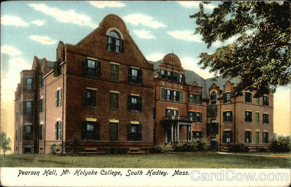 Mt. Holyoke College - Pearson Hall South Hadley Massachusetts