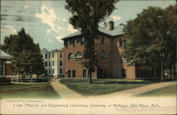 University of Michigan - Physical and Engineering Laboratory Ann Arbor