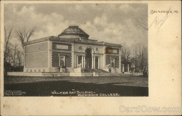 Walker Art Building, Bowdoin College Brunswick Maine