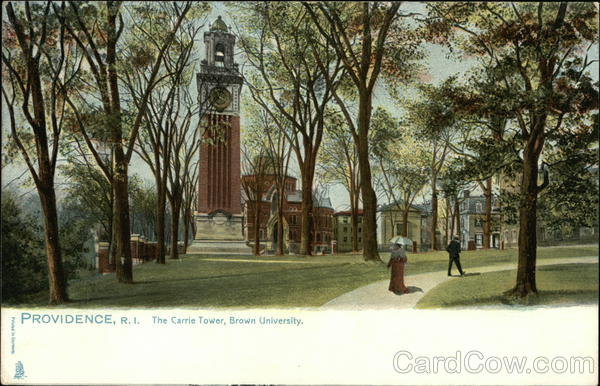 The Carrie Tower at Brown University Providence Rhode Island