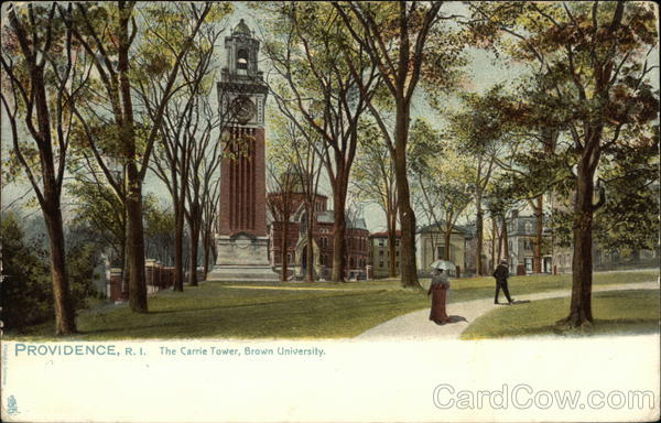 The Carrie Tower, Brown University Providence Rhode Island