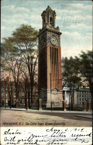 Brown University - The Carrie Tower Providence Rhode Island