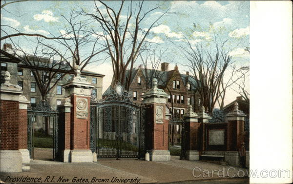 New Gates at Brown University Providence Rhode Island