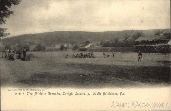 The Athletic Grounds at Lehigh University Bethlehem Pennsylvania