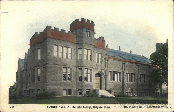 Dwight Hall, Mt. Holyoke College Massachusetts