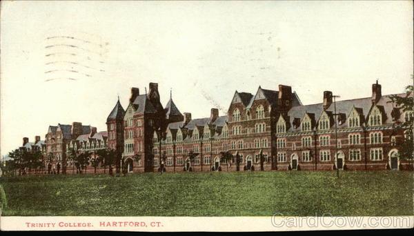 Trinity College Hartford, CT Postcard