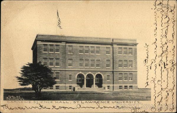 Carnegie Science Institute, St. Lawrence University