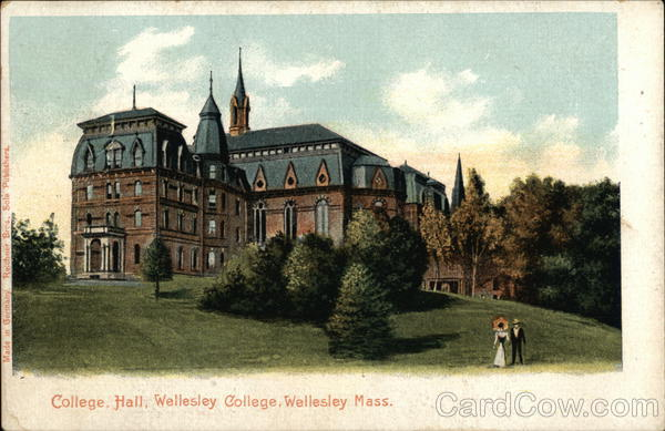 College Hall at Wellesley College Massachusetts
