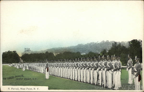 On Dress Parade West Point New York