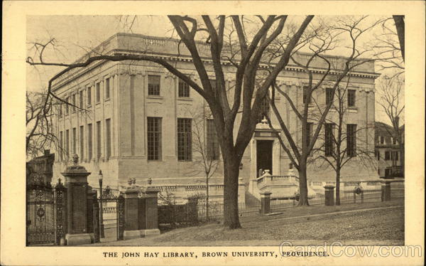 Brown University - The John Hay Library Providence Rhode Island