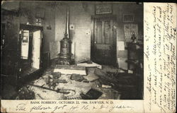 Bank Robbery, October 22, 1906