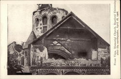 Front View Memorial Church, Stanford University, After the Earthquake, April 18, 1906