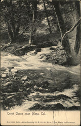 Creek Scene, Alma