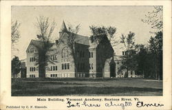 Main Building, Vermont Academy