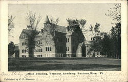 Main Building at Vermont Academy