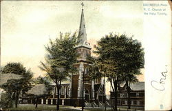 R. C. Church of the Holy Trinity Postcard